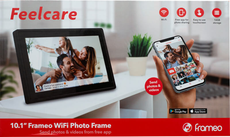 My review of the Feelcare 10.1-inch WiFi Touchscreen Digital Photo Frame 3