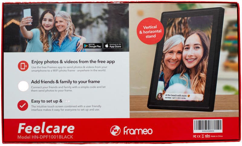 My review of the Feelcare 10.1-inch WiFi Touchscreen Digital Photo Frame 4