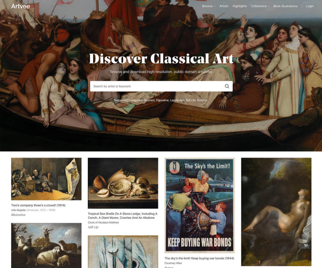 The 4 ultimate sources for legally downloading classical art and how to best present it on your digital picture frame 12