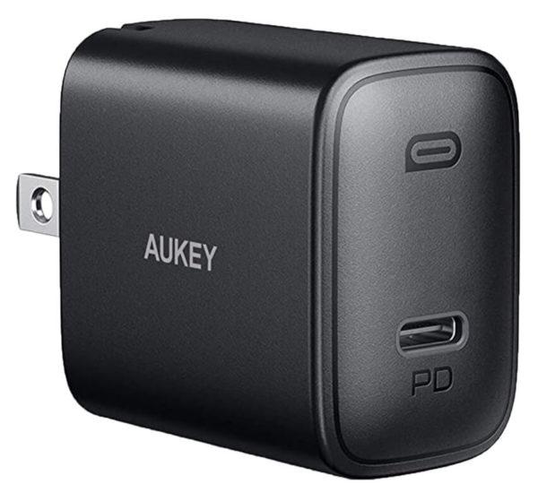 Aukey Power Supply for Raspberry Pi 4 Model B, USB-C, 5V, 3A 1