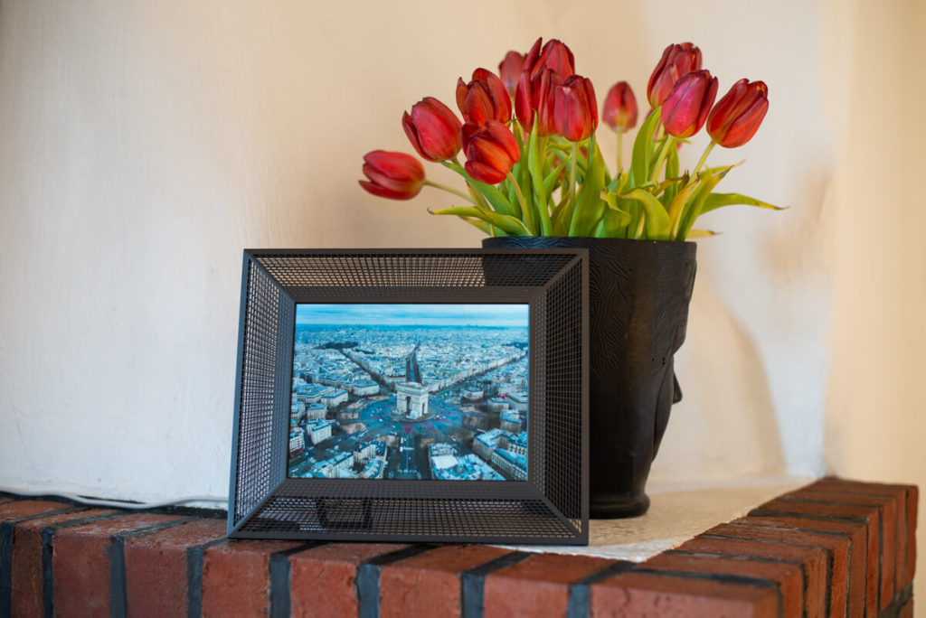 My review of the Aura Smith photo frame - exclusive French design made in California 5