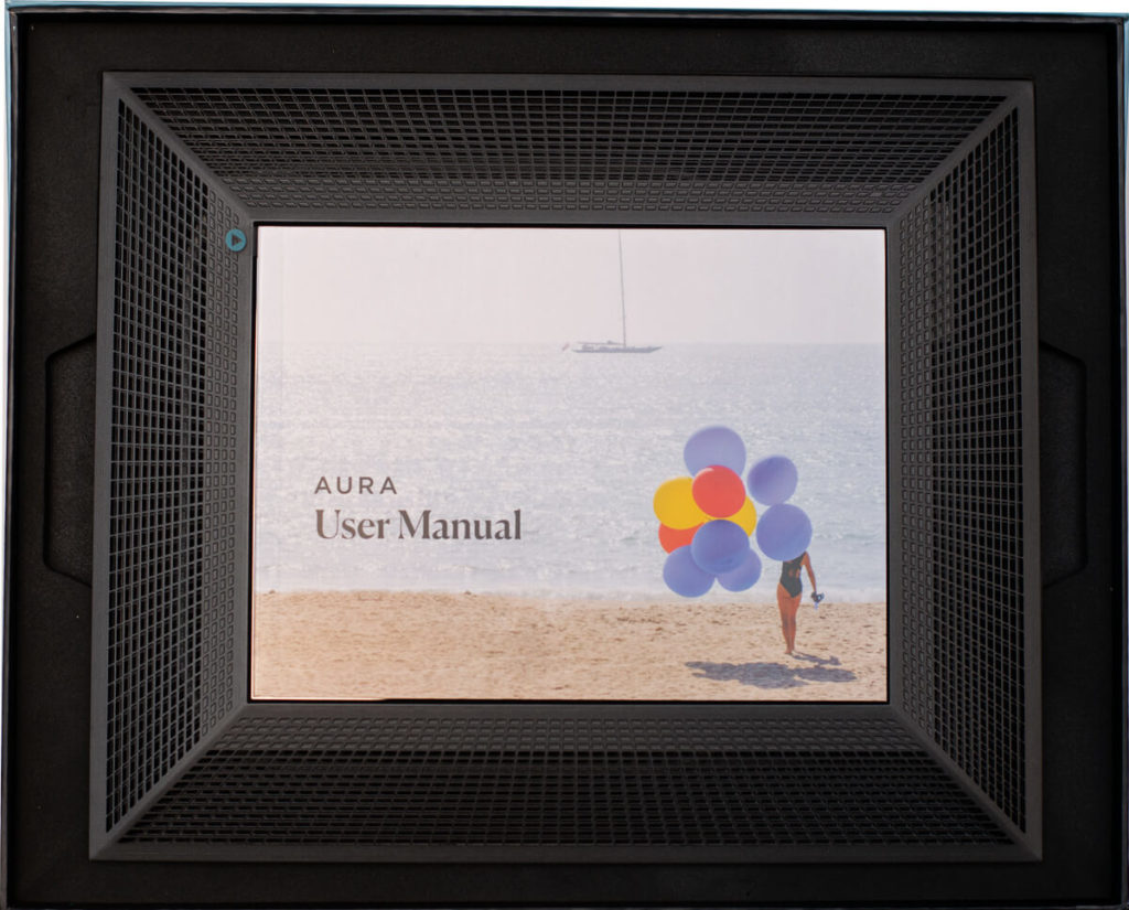 My review of the Aura Smith photo frame - exclusive French design made in California 4