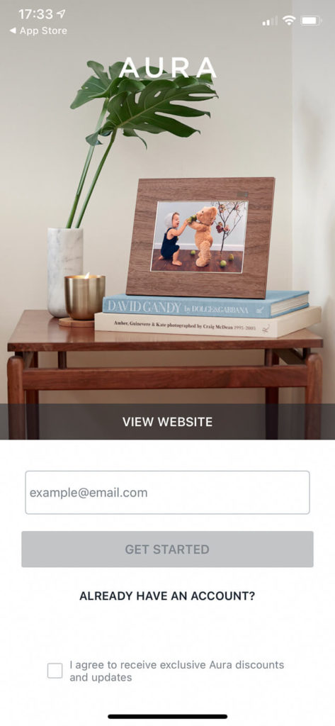 My review of the Aura Smith photo frame - exclusive French design made in California 8