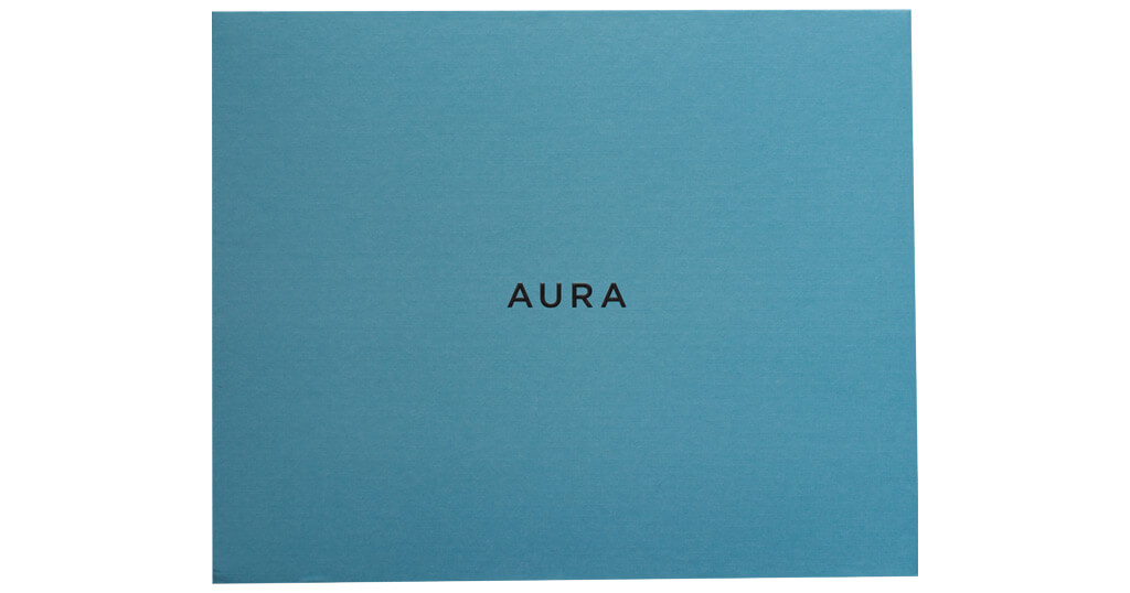 The Aura Mason digital picture frame with the Gift Setup feature to upload images even before the box is opened 3