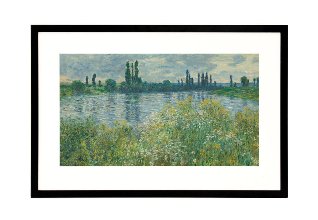 Experience the world of art with a Canvia Art Frame 6