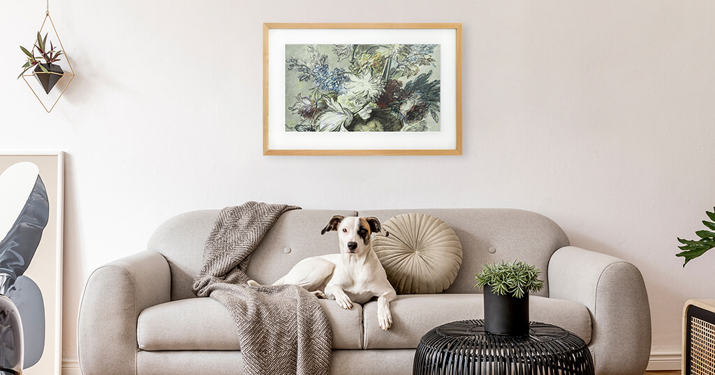 Experience the world of art with a Canvia Art Frame 2