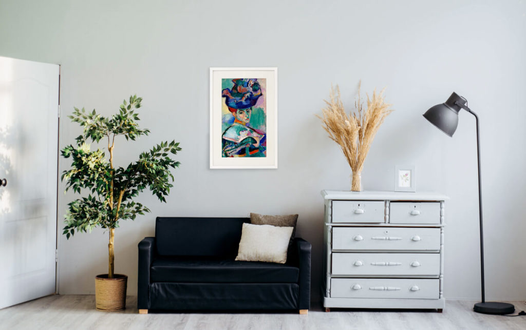 Experience the world of art with a Canvia Art Frame 9