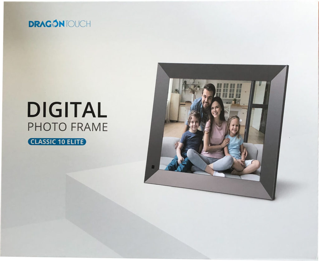 My review of the Dragon Touch Classic 10 Elite Digital Photo Frame with touch screen and WiFi 3