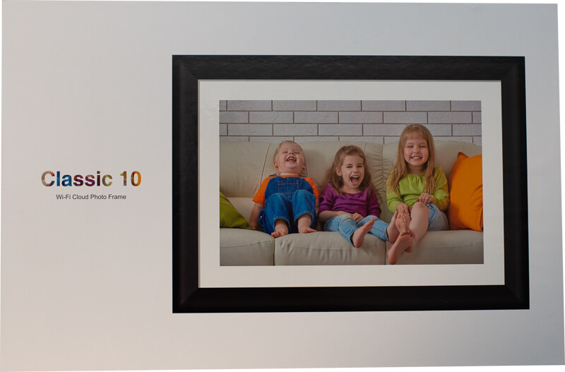 My impression of the Dragon Touch Digital Picture Frame Classic 10 with touch screen, WiFi, and SD/USB 3