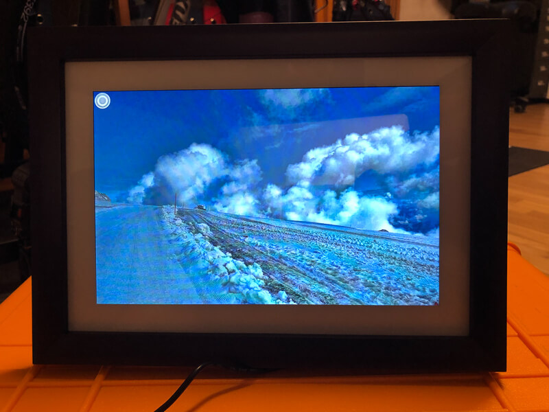 My impression of the Dragon Touch Digital Picture Frame Classic 10 with touch screen, WiFi, and SD/USB 15