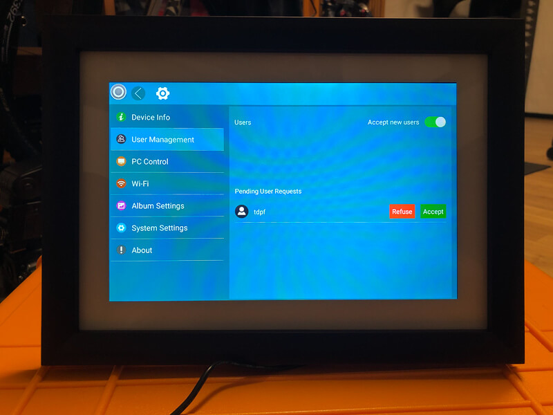 My impression of the Dragon Touch Digital Picture Frame Classic 10 with touch screen, WiFi, and SD/USB 9