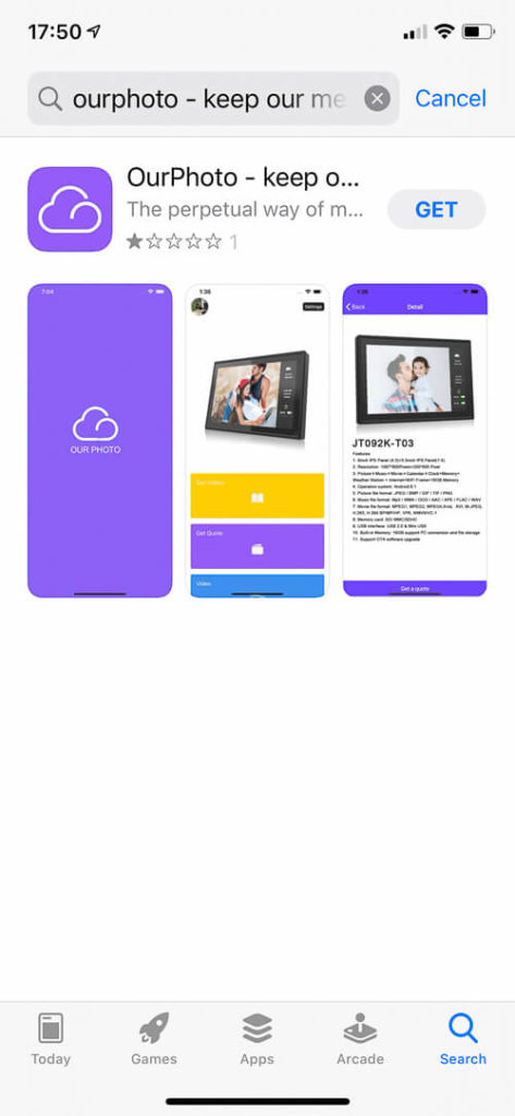 My impression of the Dragon Touch Digital Picture Frame Classic 10 with touch screen, WiFi, and SD/USB 6