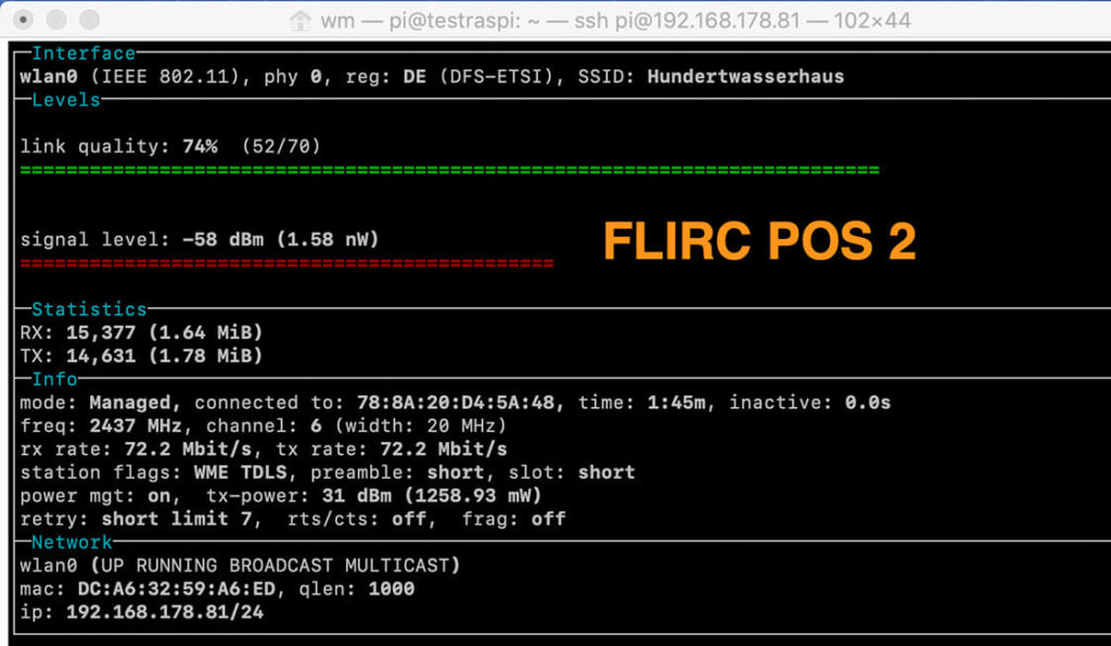Does the onboard WiFi performance of a Raspberry Pi 4 suffer using a metal Flirc case? 6