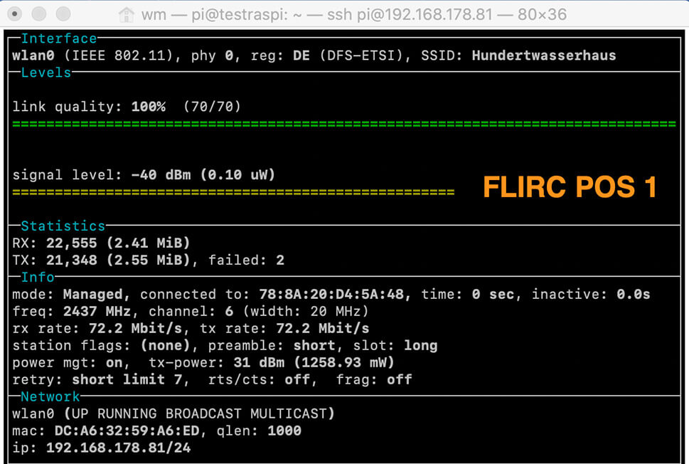 Does the onboard WiFi performance of a Raspberry Pi 4 suffer using a metal Flirc case? 4