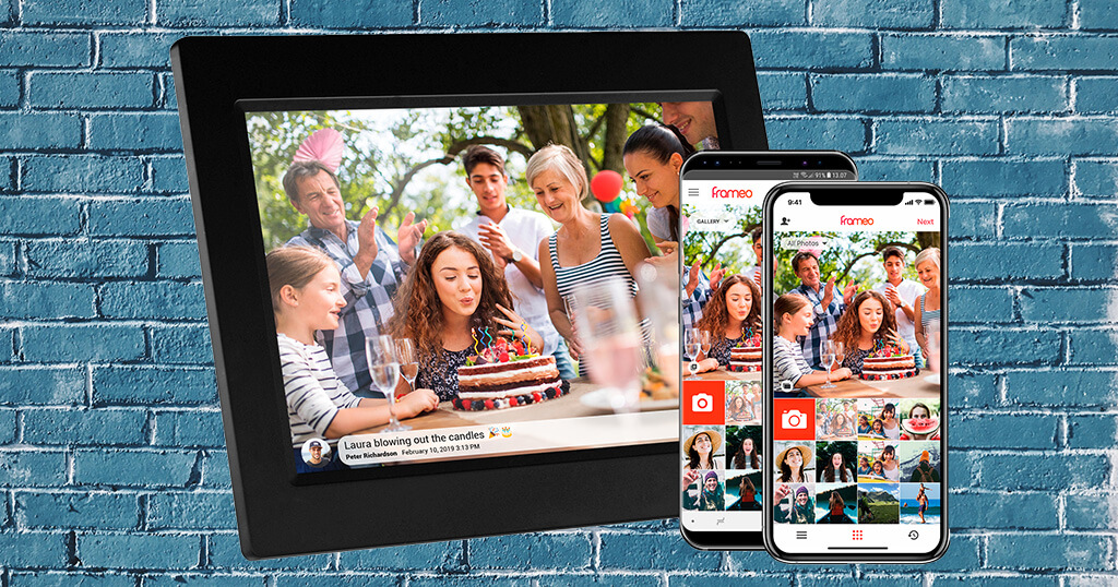 Meet Frameo - The operating system for many digital picture frames made in Denmark 1