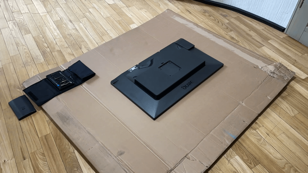 Watch the video how I dismantled the BenQ PD3200U monitor to build a new 4K digital picture frame with the Raspberry Pi 7