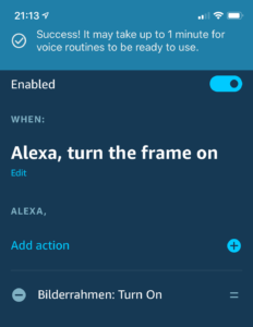 Voice control your digital photo frame with Amazon Echo and Home Assistant 14