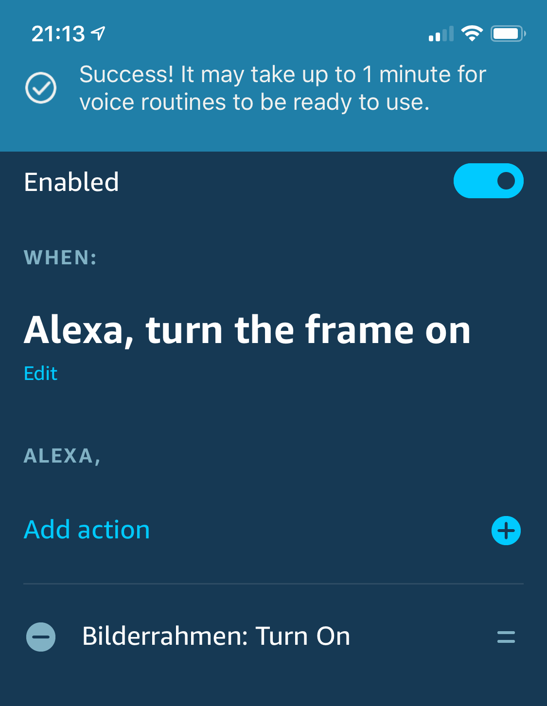Voice control your digital photo frame with Amazon Echo and Home