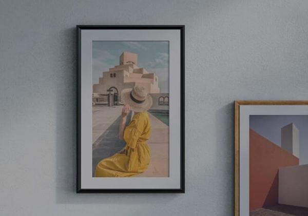 Meural Canvas II – The Smart Art Frame 21.5-inch 2