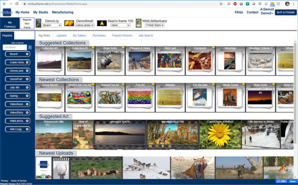 Nimbus Orion 32-inch Digital Art Frames 5