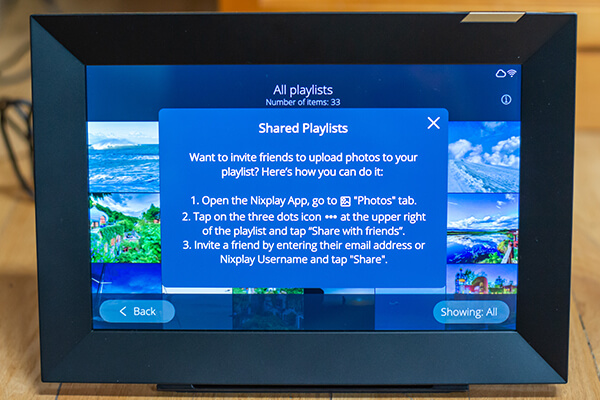 My review of Nixplay's first WiFi touchscreen photo frame 13