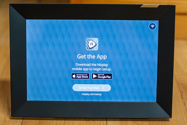 My review of Nixplay's first WiFi touchscreen photo frame 7