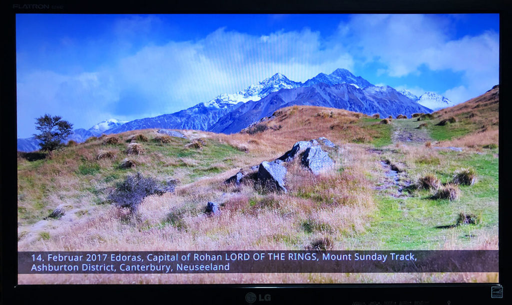 How to show the place where your photo was taken with the Raspberry Pi digital picture frame geolocation feature 5