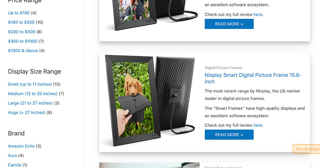 Your personal online shopping consultant to find the best digital picture frame 5