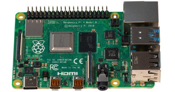 Raspberry Pi 4 with 4GB RAM 1