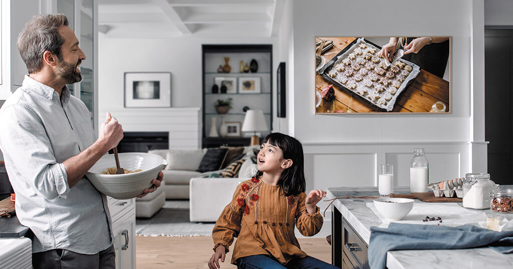 Read this before you go out and buy Samsung's The Frame as an ultra-large digital picture frame 5