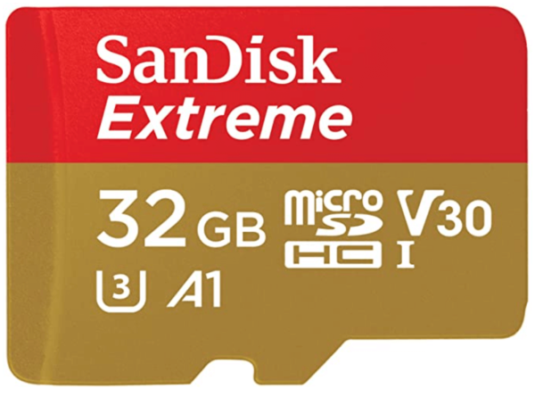 SanDisk 32GB Extreme microSDHC UHS-I Memory Card 1
