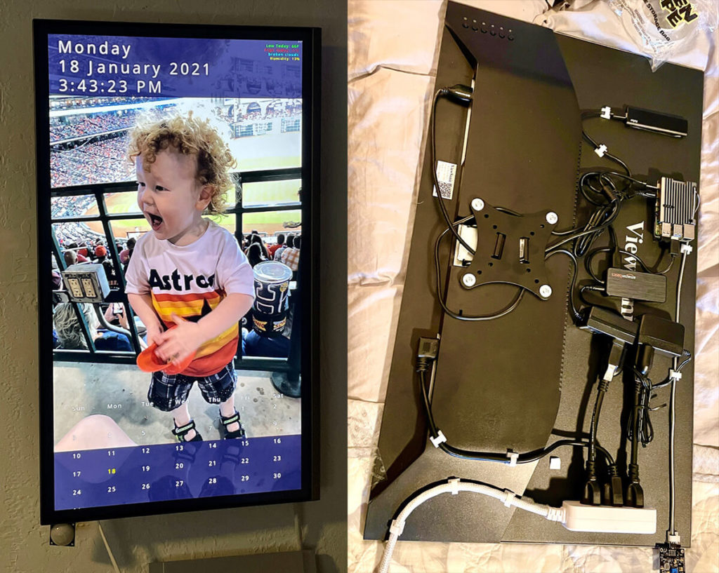 Get inspired for your Raspberry Pi project in The Digital Picture Frame User Gallery 14