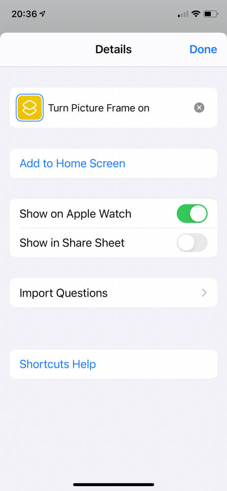 How to use iOS Shortcuts to control your Raspberry Pi digital picture frame via iPhone, Siri, or your Apple Watch 9