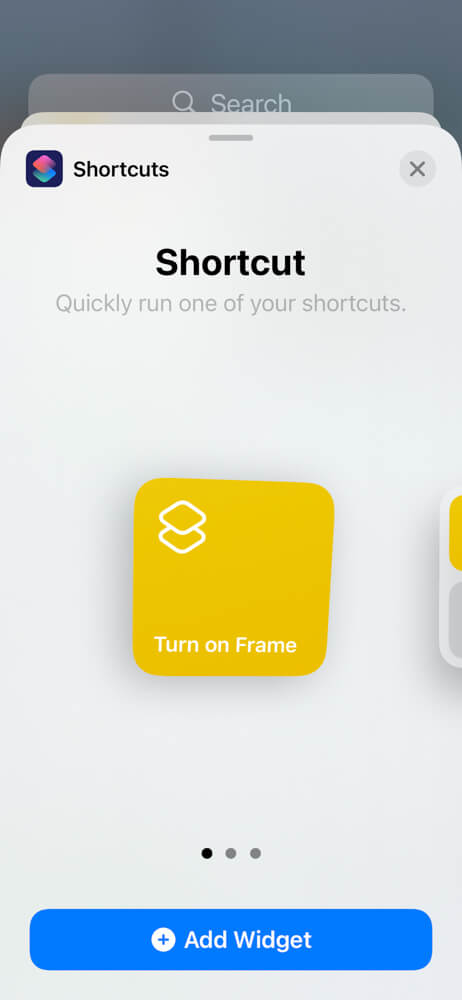 How to use iOS Shortcuts to control your digital picture frame via iPhone, Siri, or your Apple Watch 14