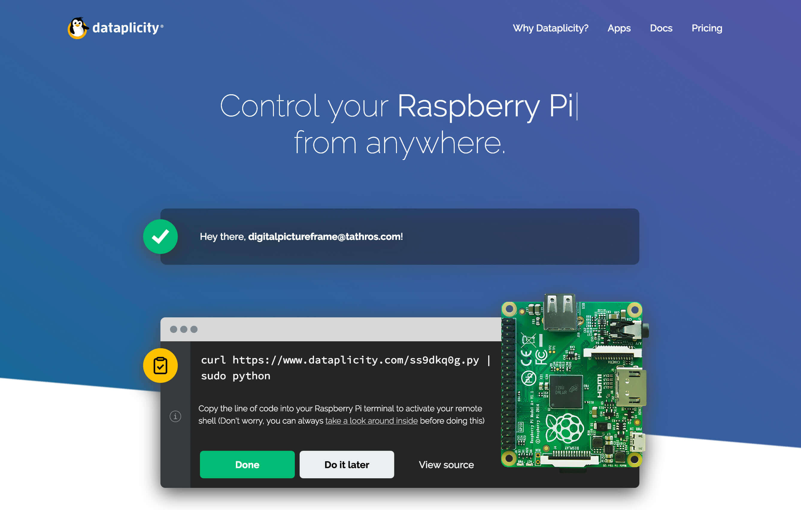 How to remotely access your Raspberry Pi digital picture frame from anywhere 4
