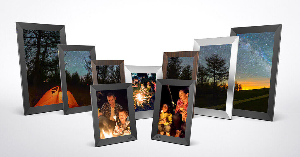 The new Nixplay Smart Photo Frames - right in time for the holiday season 2