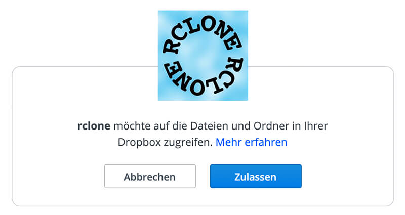 How to install Dropbox on your Raspberry Pi using rclone 4