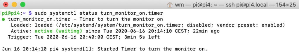 How to start realtime systemd timer services as a crontab replacement on the Raspberry Pi 4
